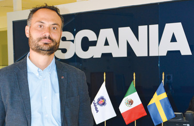 Enrique Enrich, Director General de Scania México