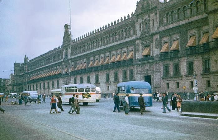 Coloreando la capital mexicana pasajero7 - Los anos cincuenta ...