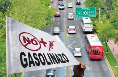 el transporte y gasolinazo