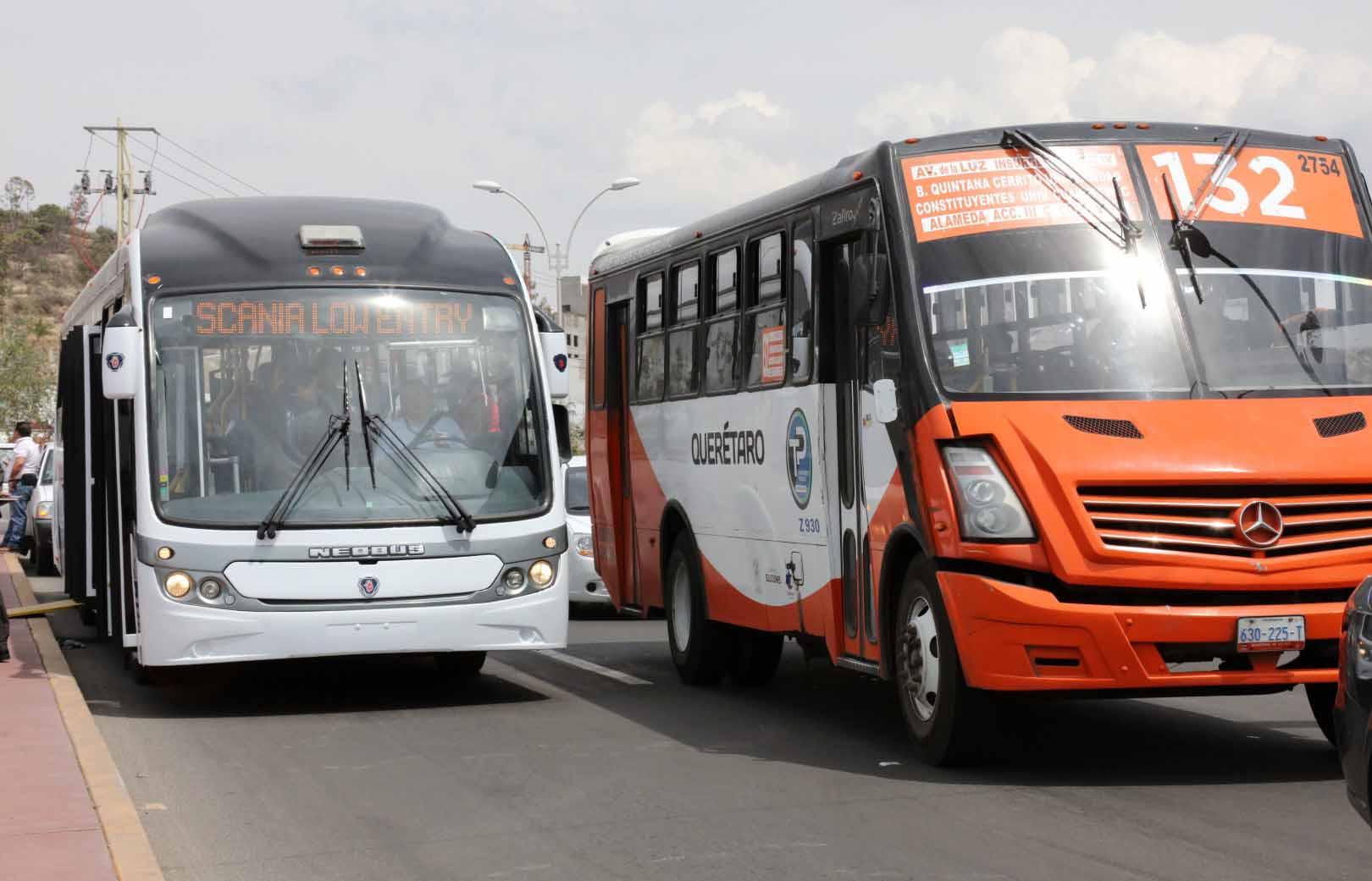 Forman empresa nica de transporte en quer taro pasajero7 for Oficina transporte publico