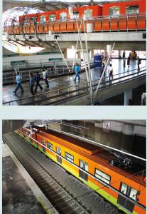trenes elevados
