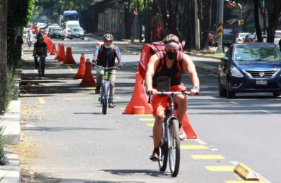 Piden que ciclovía de Insurgentes sea permanente