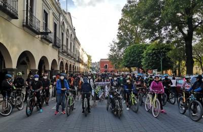 Piden respeto a la movilidad y la seguridad vial ciclistas de Tlaxcala