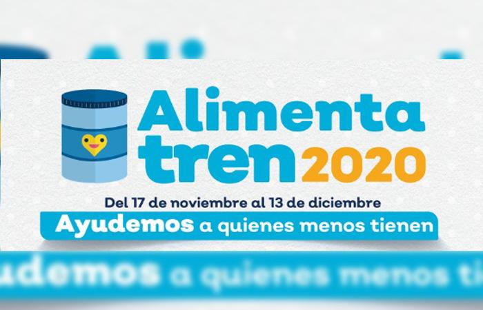 Da inicio la colecta AlimentaTren 2020 del Siteur