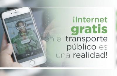SIT Optibús será el primer sistema de transporte con WIFI gratuito en Latinoamérica