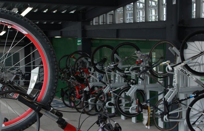 Se registra mayor ocupación en bici-estacionamientos de la CDMX
