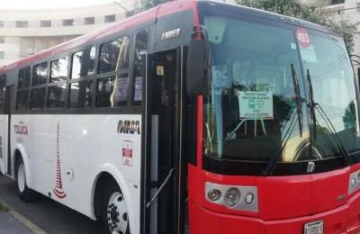Transportistas en Toluca avisan sobre próximo incremento