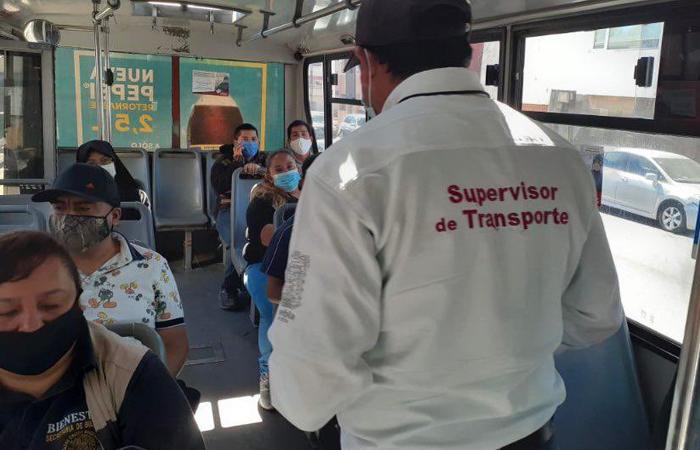 Aglomeraciones en el transporte público inciden en los ingresos por covid-19