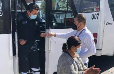 Para minimizar contagios proponen modificar horarios del transporte público en Puebla