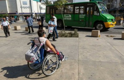 Piden censo de personas con discapacidad que usen transporte público en Jalisco