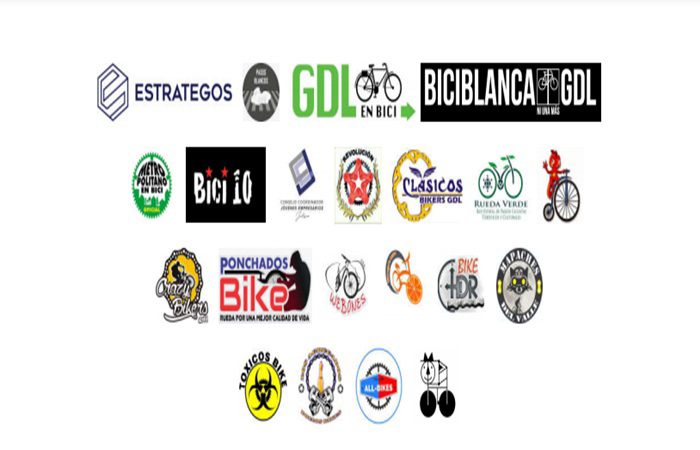 Piden organizaciones movilidad segura para peatones y ciclistas en Jalisco