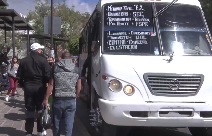 Se analiza reducir en 40% unidades de transporte en Guanajuato