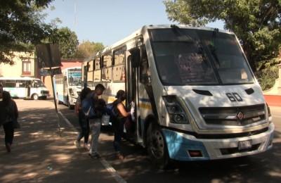 Complicado aumento de tarifas en transporte público en Durango