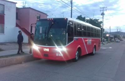 El transporte público en Hermosillo es vigilado por observadores a bordo