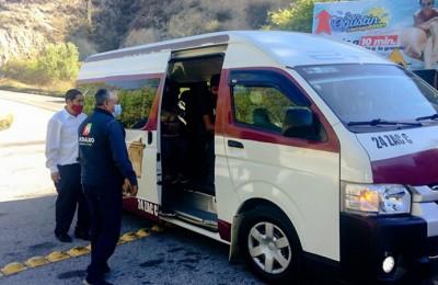 Identifican 8 mil desempleos en el transporte público por pandemia en Hidalgo