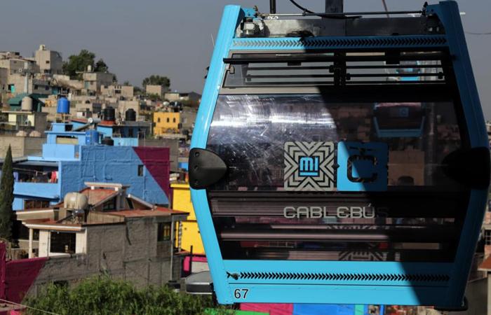 Línea 2 del Cablebús en Iztapalapa registra avance del 92%a