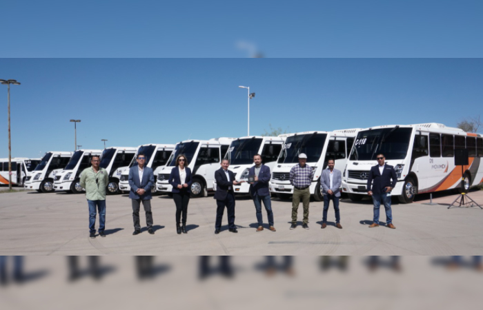 MOVIMEX renueva unidades de transporte público