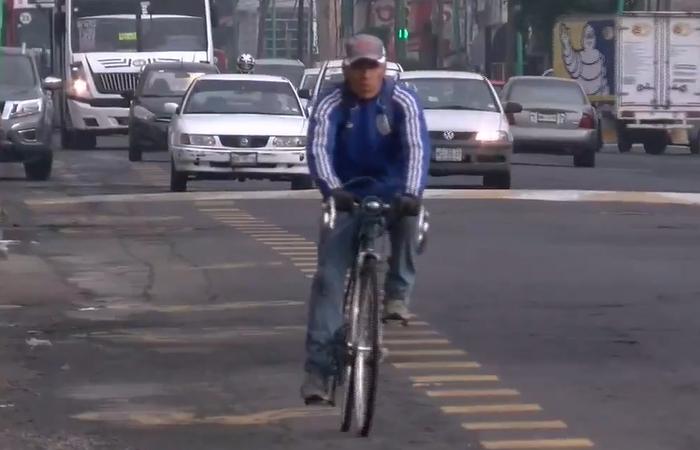Avance de 21% registra ciclovía en Toluca