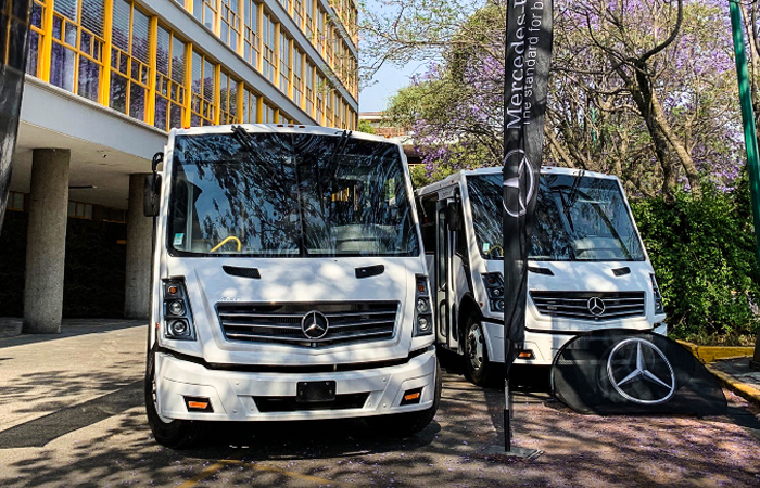 Mercedes-Benz entregó unidades a la Facultad de Ingeniería de la UNAM