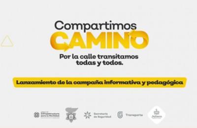 Jalisco presenta Compartimos Camino, una estrategia de seguridad vial