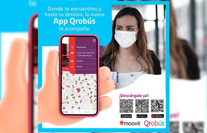 La App Oficial de Qrobús busca transformar la movilidad en Querétaro
