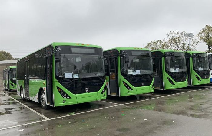 Llegaron unidades eléctricas para el Transporte Público del AMG