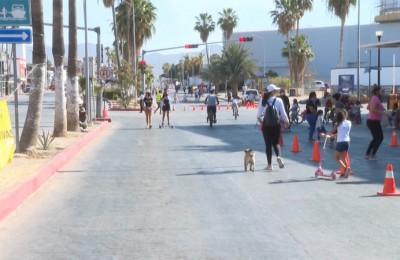 Piden continuidad a Ciclovía Recreativa en Cabo San Lucas
