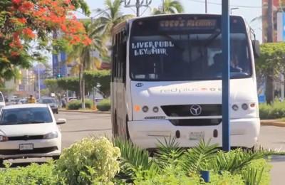 En Mazatlán retoman protocolos sanitarios en transporte público