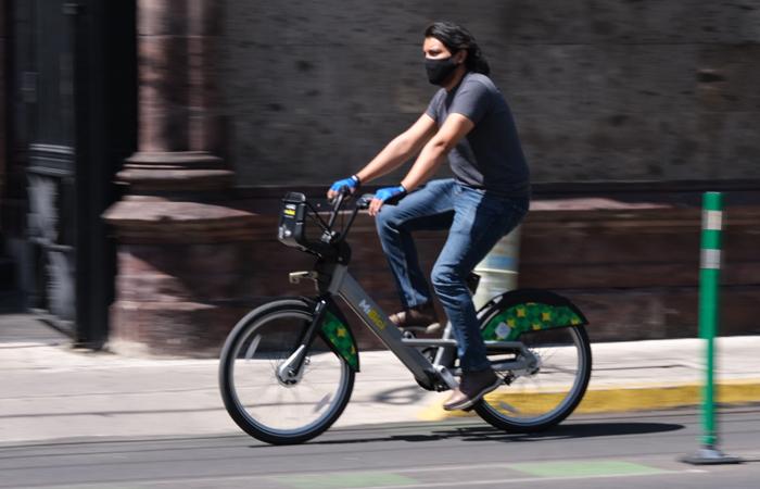 En el AMG se realizan 28,035 viajes en bicicleta en las principales ciclovías