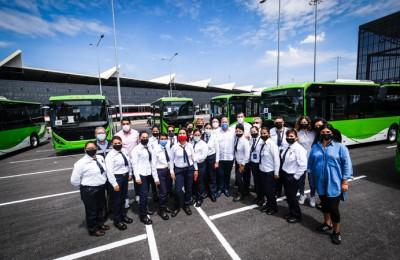 Presentan la primera línea de Mi Transporte totalmente eléctrico en México