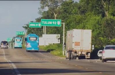 Canapat pedirá operativos en carretera de Quintana Roo por autobuses piratas