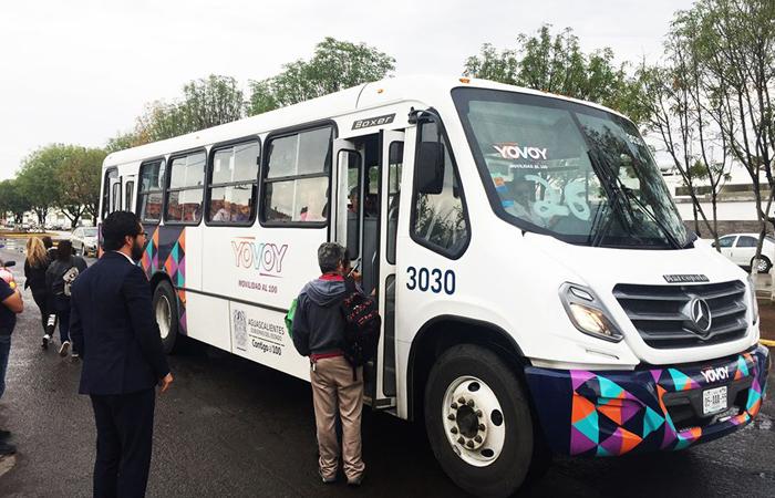 El transporte público en Aguascalientes será operado por ADO