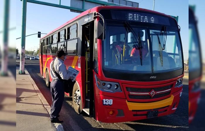 Estiman que 70% de los habitantes de Mexicali dejaron de usar transporte público