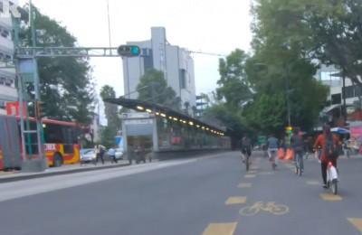 Reconocen a la CDMX por ampliar la infraestructura ciclista