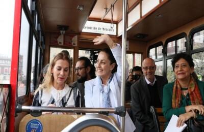 sheimbaum transporte público
