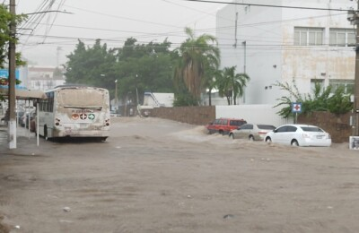 Transporte Culiacán lluvia