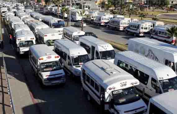 Resultado de imagen para transporte publico en tijuana