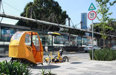 Trici-Taxi eléctrico concluye pruebas piloto con éxito en la CDMX