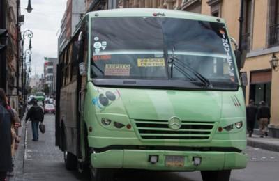 Transportistas de la CdMx piden aumento en tarifa de pasajeros a 9.18 pesos