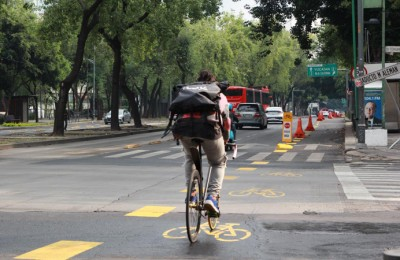 Identifican cruceros peligrosos para ciclistas en CDMX