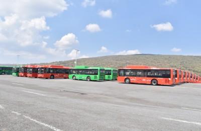Alistan 336 nuevas unidades para la renovación de transporte público en Jalisco