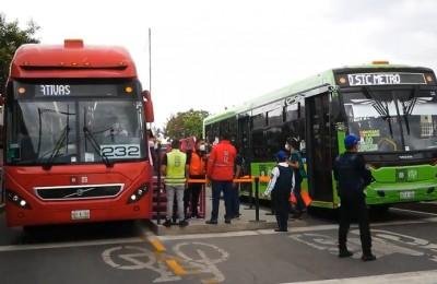 Aumenta SEMOVI a 31 unidades de servicio en servicio expreso de Metrobús en Tláhuac