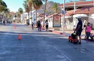 Ciclovía de Cabo San Lucas se recortará por remodelación de Fonatur