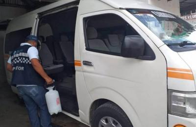 Cofepris señala que en Quintana Roo se cumple las medidas sanitarias en el transporte público