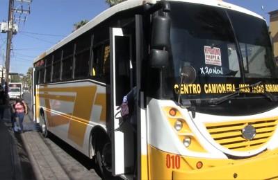En Durango aumento en tarifa de transporte afectaría a 18 mil estudiantes
