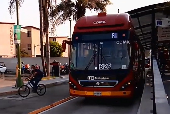 Línea 5 del Metrobús reduce tiempos de traslado