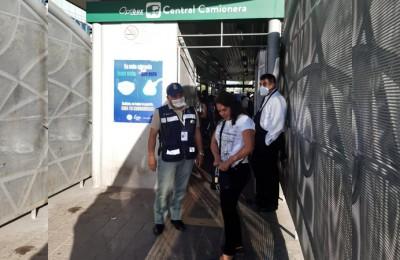 Usuarios relajan medidas sanitarias en el transporte público de León
