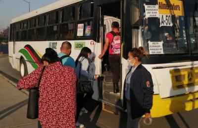 Van 13 mil usuarios a los que se les niega acceso al transporte en León
