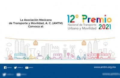 Convoca AMTM a participar en el Premio Nacional de Transporte Urbano y Movilidad
