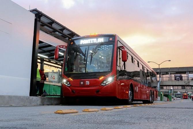 En la CDMX presentan ampliación de Línea 4 del Metrobús